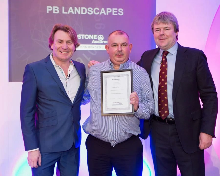 pb landscapes highly commended at the national landscaping awards 2016